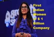 First Indian Women of $ 1 Billion Company Co-Founder Ankiti Bose