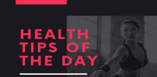 Health Tips of The Day?